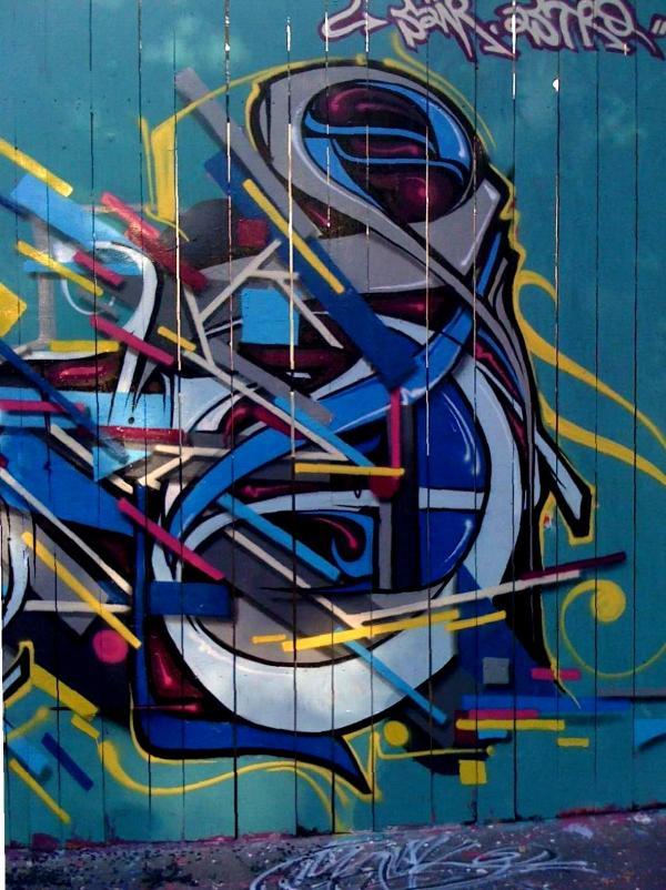 Graffiti Street Walls