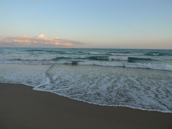 El mar simplemente