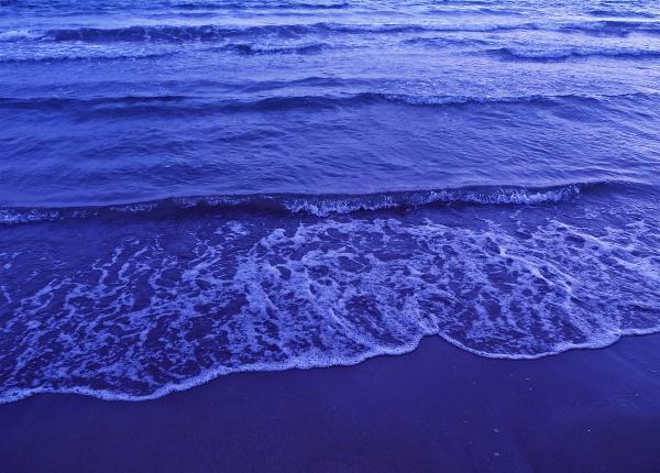 Beach, blue