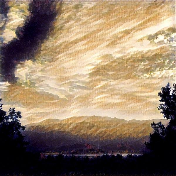 Sky in Ocre