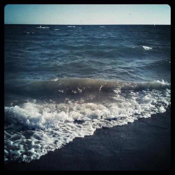 Beach, soir