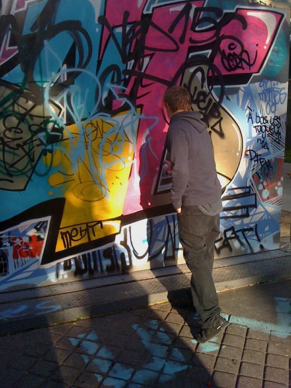 Graffiti Street Painter Two