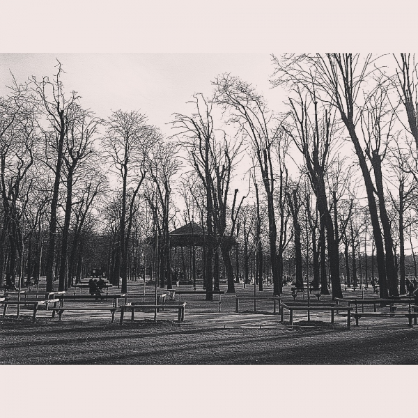Peace and Quiet in the Luxembourg Gardens