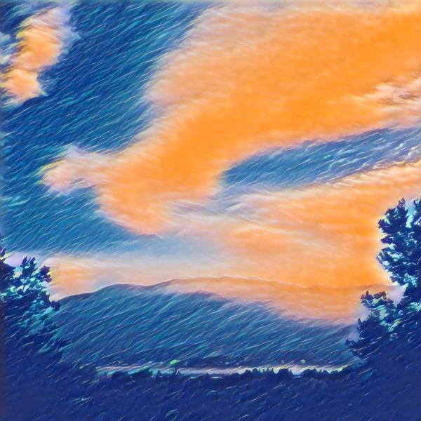 Sky in Orange