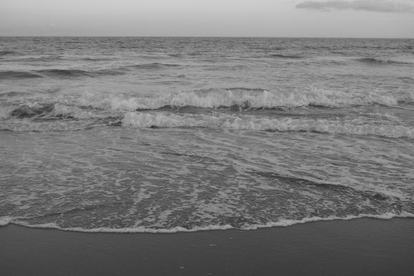 El mar y nada