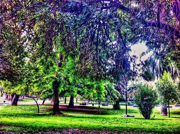 Santiago's Central Parc
